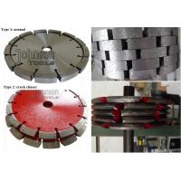 Buy cheap Three Types 125mm, 180mm, 300mm Tuck Point Diamond Cutting Saw Blade , crack chasing diamond blades from wholesalers