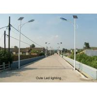 Buy cheap OEM Solar Photovoltaic Street Lighting Systems , Solar Tracking Street Light System product