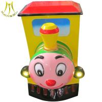 Buy cheap Hansel amusement coin operated electric train ride for kids park for sale from wholesalers