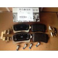 Buy cheap Audi A4 Auto Brake Parts Rear Brake Pad Set 8K0698451A Rear Axle Thickness 17.7mm from wholesalers