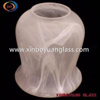 Buy cheap cloudy Vintage Glass Lamp Globes Replacement from wholesalers