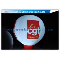 Buy cheap Rental Inflatable Advertising Balloon With Bottom , Custom Inflatable Balloons With Light product