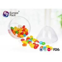 Buy cheap ISO9001 Round Dessert Cups 36g Clear Plastic Egg Shape Container from wholesalers