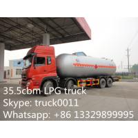 Buy cheap factory sale best price HOWO 14.7tons lpg gas dispensing truck,HOWO 8*4 LHD 35.5M3 lpg gas truck with lpg gas dispenser from wholesalers