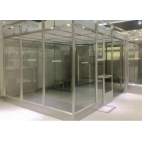 Buy cheap Stainless Steel Frame Simple Softwall Clean Room Class 100 To Class 100000 product