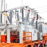 Buy cheap EPS Mobile Transformer Substation 15000KVA Three Phase Copper Material from wholesalers