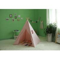 Buy cheap Kids Tent Teepee Toy Fun Fort Canvas Wigwam Play Childs indoor from wholesalers