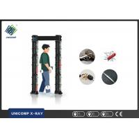 China X Ray Security Scanner Walk Through Gate Gold Metal Detector With Intelligent Alarm System on sale