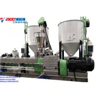 Buy cheap Plastic PE LDPE Film/PP Woven Bag/HDPE Bottle Regrind/EPS HIPS ABS Water Ring Pelletizing Machine For Injection Moulding from wholesalers