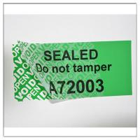 Buy cheap Anti-Tamper PET Security Warranty VOID Stickers,Custom Made VOIDTamper  Evident Hologram Sticker from wholesalers