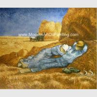 Buy cheap Custom Vincent Van Gogh Oil Paintings Reproduction La Sieste For Coffee Stores Decor from wholesalers