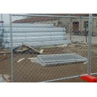 Buy cheap Temporary PVC Coated Chain Link Fence Smooth Surface With No Sharp Edge from wholesalers