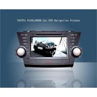 Buy cheap Hot Sale screen touch Toyota Highlander navigator from wholesalers