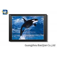 Buy cheap Dolphins Theme 3D Deep And Flip Effect Lenticular Material Picture With Frame Or Frameless from wholesalers