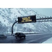 Buy cheap Traffic Digital Highway Signs , Full Color Scrolling LED Display IP65 Enviromment Protection from wholesalers