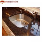 Buy cheap Brown Granite Stone Table Beautiful Tan , Brown Granite Countertops from wholesalers