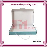 Buy cheap Cotton handle corrugated paper box, shopping carrier handle gift box ME-CU004 from wholesalers