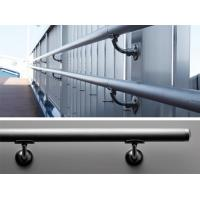 Buy cheap Stainless steel stair handrail bracket for glass railing from wholesalers