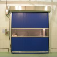 Buy cheap High Frequency Motor Fast Acting High Speed Roll Up Door For Warehouse from wholesalers