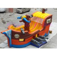 Buy cheap Colorful CE Inflatable Forest Shuttle Bus Dry Slide 0.55mm Plato PVC For Children from wholesalers