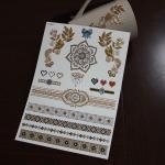 Buy cheap custom temporary gold tattoo from wholesalers