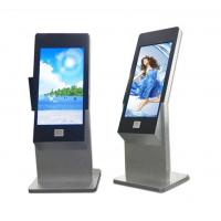 Buy cheap 43 Inch Floor Stand Interactive IR Touch Screen Kiosk Computer Totem With Webcam And Scanner from wholesalers