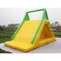 Buy cheap Commercial Grade PVC Tarpaulin Inflatable Water Slide Used In Water Park from wholesalers