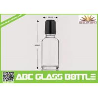 Buy cheap Wholesale White 30ml Roll On Glass Bottle With Roller, Bottle Roll-on, Clear from wholesalers
