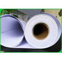 Buy cheap High Glossy Cardboard Paper Roll , 150gsm 190gsm 200gsm Coating Printing Parchment RC Photo Paper from wholesalers