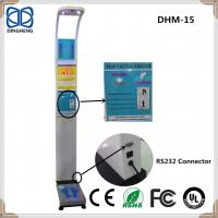 Buy cheap DHM-15 Coin Slot Ultrasonic body fat analyzer 150kgs/330lb BMI weighing scale body fat scale bathroom scale from wholesalers