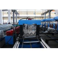 Buy cheap 15M/MIN Highway Guard Rail Roll Forming Machine 45KW Motor Two Sets Punching from wholesalers