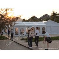 Buy cheap Beautiful Small Square Out Side Commercial Event Tents Waterproof Fabric Cover from wholesalers