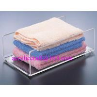 Buy cheap Acrylic towel holder, plexiglass bath towel holder stand for hotel supplies from wholesalers