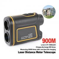 Buy cheap 900m Telescope trena laser rangefinders distance meter Digital Monocular hunting golf laser range finder tape measure from wholesalers