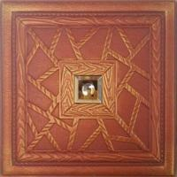 Buy cheap 3D Leather wall panel also could for background and ceiling panel from wholesalers