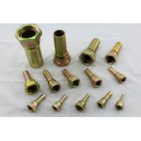Buy cheap 37° Cone Seat SAE J514 JIC Female Hose End Hydraulic Fittings And Adapters from wholesalers