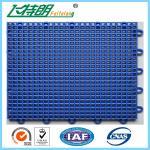 Buy cheap Outdoor Interlocking Polyurethane Sports Flooring 350g / pc PU Hard Flat Surface from wholesalers