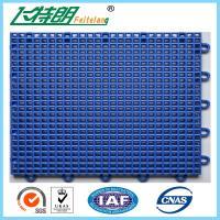 Buy cheap Outdoor Interlocking Polyurethane Sports Flooring 350g / pc PU Hard Flat Surface product