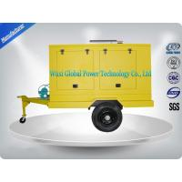 Buy cheap Portable Diesel Trailer Mounted Generator With Water Cooled Cooling System from wholesalers
