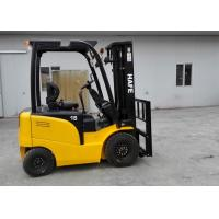 Buy cheap AC / DC Electric Forklift Truck 3 Or 4 Wheels 1.5T 24V / 350AH Battery from wholesalers