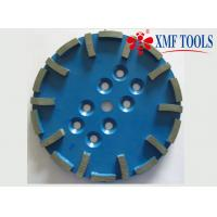 Buy cheap 250mm  10  Inch  Ridgid Diamond Cup Wheel  Grinding Disc Blue Silver Brazed from wholesalers
