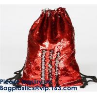 Buy cheap Amazon Hot Sale Magic Mermaid Reversible Sequin Drawstring Bag, Wholesale from wholesalers
