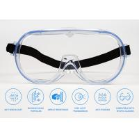 Buy cheap Anti Saliva Fog Safety Glasses Goggles / Clear Eye Protective Medical Goggles from wholesalers