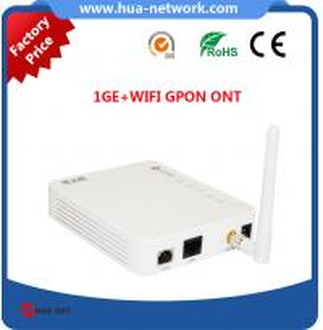 Buy cheap 1FE+WIFI GPON ONU/1FE+WIFI GPON ONU/1FE WIFI ONU GPON/FTTH ONU/Fiber optic ONU product