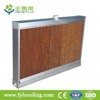 Buy cheap FYL cooling pad/ evaporative cooling pad/ wet pad with aluminum frame from wholesalers