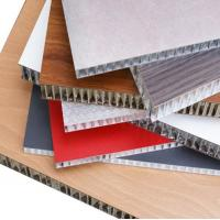 Buy cheap Thermal Insulation Aluminum Honeycomb Panels Fire Resistance For Wall Cladding product