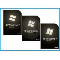 32 Bit  64 Bit microsoft windows 7 ultimate full version Retail box DVD BRAND softwares