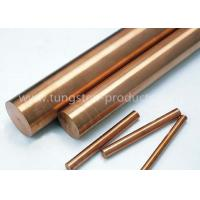 Buy cheap EDM CuW Alloy , Tungsten Copper Electrodes Diameter 1.0mm - 30mm W80Cu20 from wholesalers