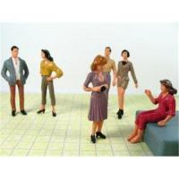 Buy cheap P25-6 outdoor 1:25 Architectural Scale Model People Painted Figures 7cm from wholesalers