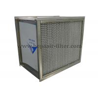 Buy cheap Separator H13 High Temperature HEPA Filters Stainless Steel SUS 304 Frame from wholesalers